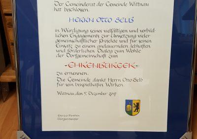 Ehrenmitglied Sportverein